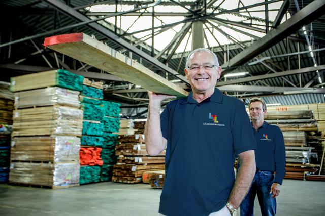 LTL Woodproducts bied een diversiteit aan houtsoorten
