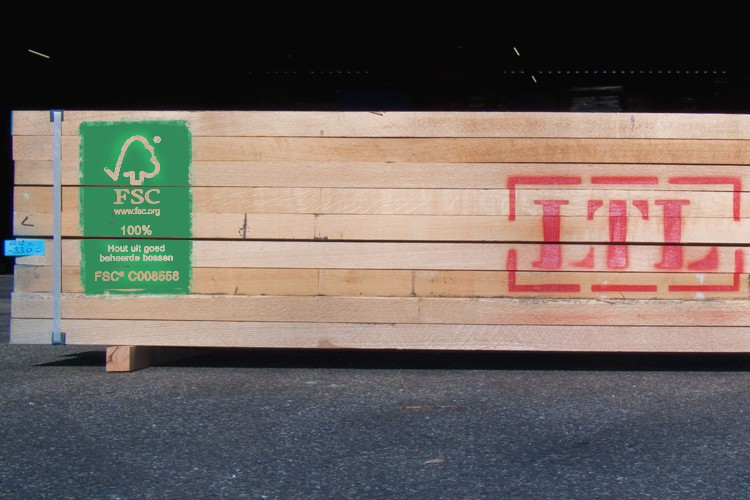 LTL Woodproducts verkoopt FSC hout