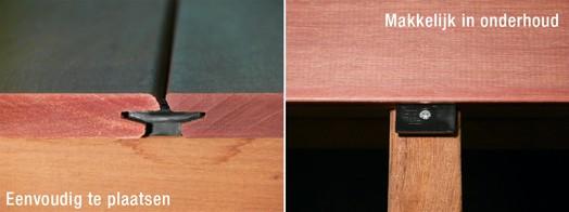 LTL Woodproducts heeft met de LTL clip een uniek montagesysteem