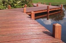 De steiger toepassingen van LTL Woodproducts