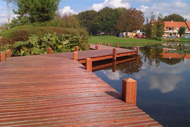 LTL Woodproducts heeft hout voor uw steiger die bestand is tegen alle weersomstandigheden