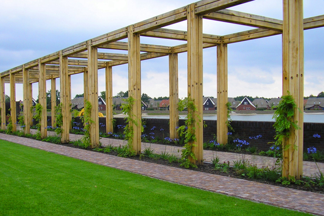 Construct your stylish outdoor space using LTL's garden timber.